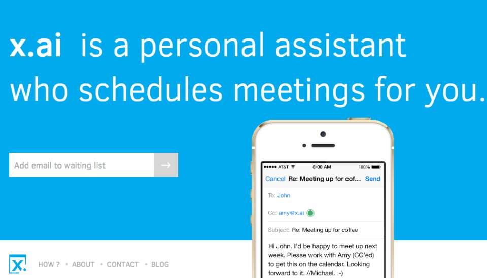 まだ会議の調整に時間を掛けますか? スケジューリングを人工知能で自動化するサービス「x.ai」 1番目の画像