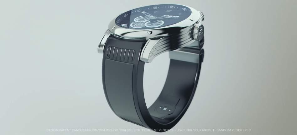 ベルトを交換するだけ! 「T-band」であなたの時計をスマートウォッチに変えてみませんか? 2番目の画像