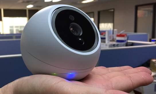 見る、聞く、感じるを備えた高性能なホームセキュリティカメラ。「iCam PRO」があれば家も安全 4番目の画像