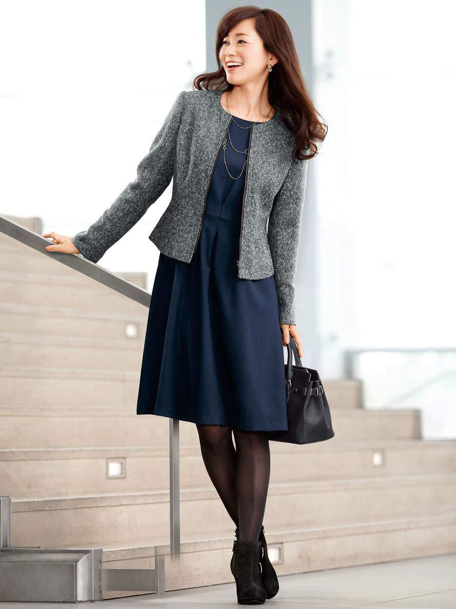 働く女性のリアルな着こなし。毎日楽しく過ごすためにはオン・オフ何着てどう過ごす? 2番目の画像