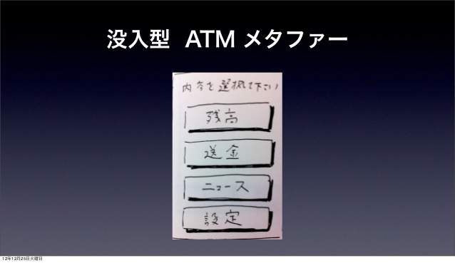 深津貴之氏が語る、「fladdict流・使ってもらえるアプリのUIデザイン」 6番目の画像
