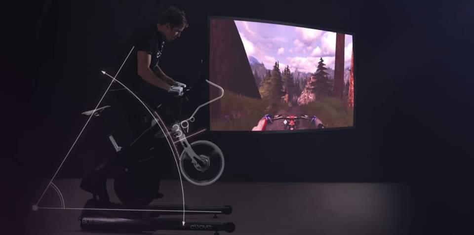 もう作業的なダイエットは辞めよう。ゲームをしながら体を絞れるエアロバイク「The ebove」 4番目の画像
