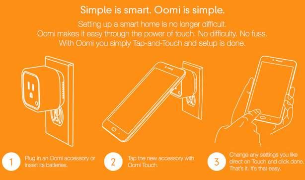 もうスマホすら必要ない? 3つのデバイスで家電を手軽に自動化するIoTガジェット「Oomi」 4番目の画像