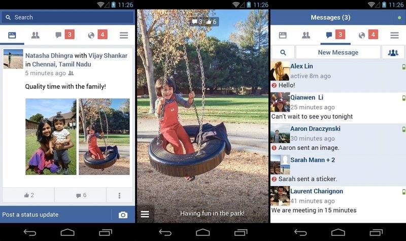 Facebookも軸足を新興国へとシフト。低速の通信環境でも使用できる軽量版アプリをリリース 2番目の画像