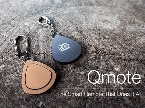 ちょっとした便利をあなたの手元に。スマートフォンをクリックで操作できるリモコン「Qmote」 1番目の画像
