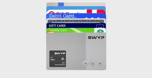 「汚」財布問題に終止符を! 財布の中のクレカを一つにまとめられるカード型ガジェット「Swyp」 2番目の画像