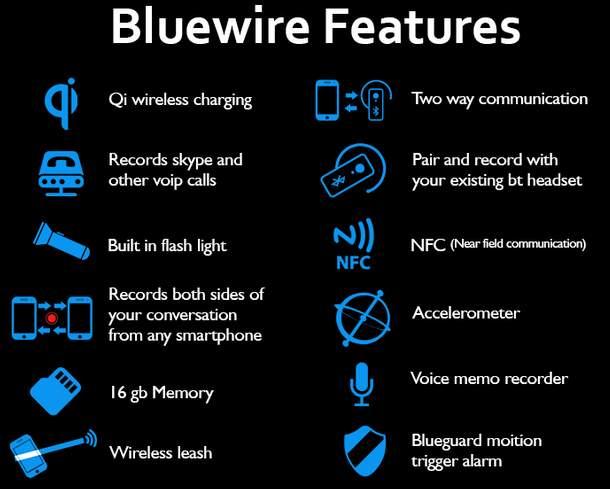 営業マンには嬉しいかも? 通話内容を録音してくれるスマホ用レコーダー「Bluewire」 6番目の画像