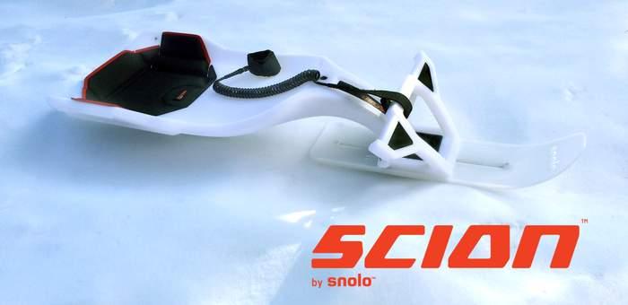 ウィンタースポーツの新提案! 今までのソリの常識を覆す「SCION」でゲレンデの楽しみが増える 2番目の画像