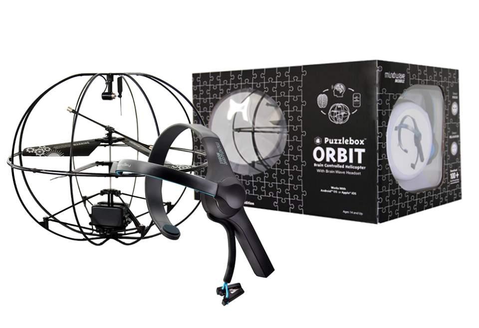 必要なのは念じる力のみ! 手を使わず「脳波」だけで操作できる未来型ドローン「Orbit」 2番目の画像