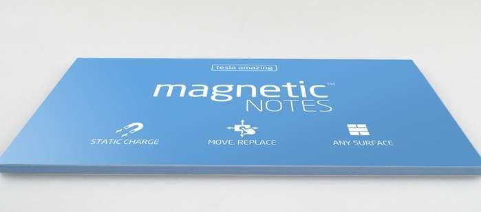 こんなポストイットが欲しかった。書いても消せる、どんな壁でも貼り付けられる「MAGNETIC」 2番目の画像