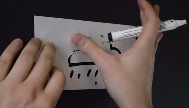 こんなポストイットが欲しかった。書いても消せる、どんな壁でも貼り付けられる「MAGNETIC」 5番目の画像