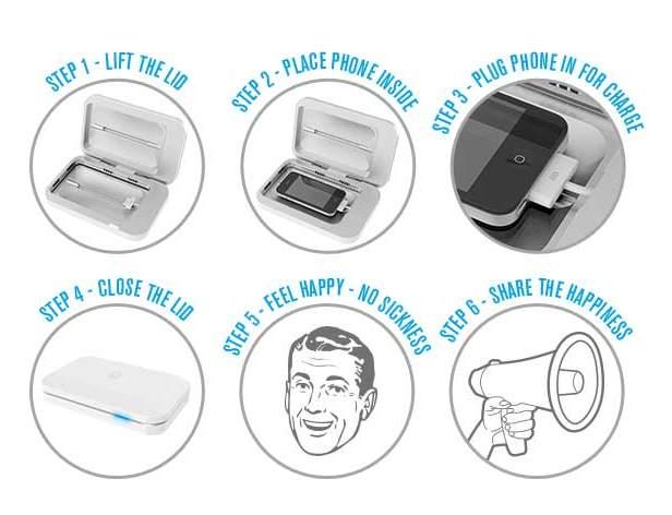 実はトイレの何倍も汚いスマホのディスプレイ。充電器で手軽に殺菌・消毒しませんか? 4番目の画像