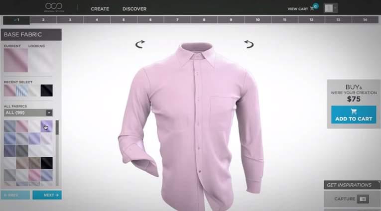 こだわりの一枚を着る。カジュアルシャツのオーダーメイドが手軽にできるサービス3選 4番目の画像