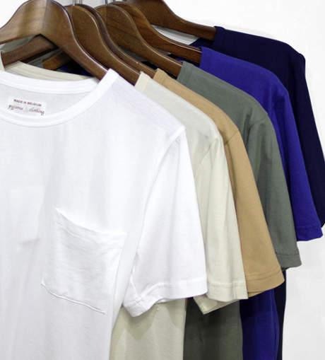 肌に触れるものだからこそ、こだわりの一枚を。上質を極めた本気のメンズTシャツ3選 2番目の画像