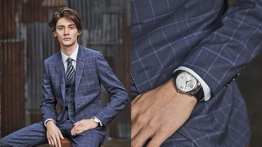 定番の「ネイビースーツ」も旬を取り入れてカッコよく。Paul Smithの新作スーツが見逃せない 1番目の画像