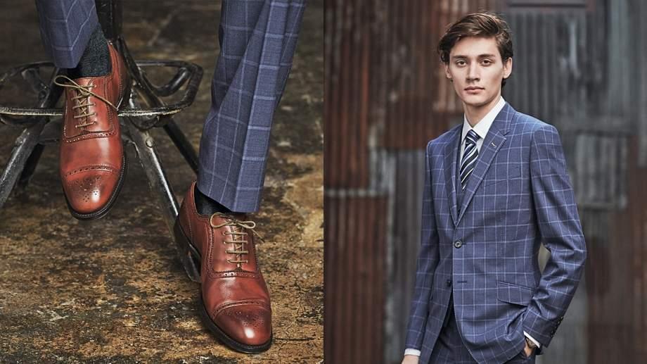 定番の「ネイビースーツ」も旬を取り入れてカッコよく。Paul Smithの新作スーツが見逃せない 3番目の画像