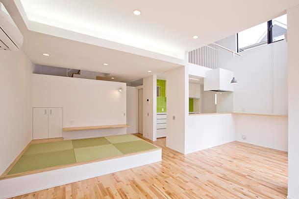 一生モノのマイホームは空間を贅沢に使って暮らしたい。「スキップフロア」の住宅実例まとめ 1番目の画像