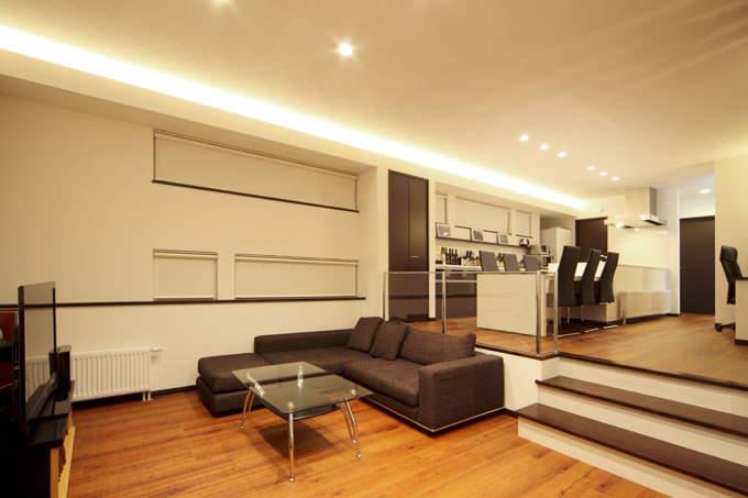 一生モノのマイホームは空間を贅沢に使って暮らしたい。「スキップフロア」の住宅実例まとめ 3番目の画像