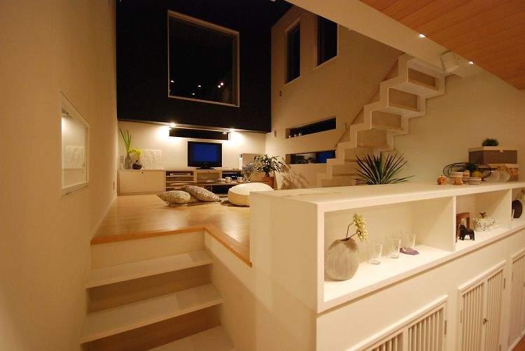 一生モノのマイホームは空間を贅沢に使って暮らしたい。「スキップフロア」の住宅実例まとめ 4番目の画像