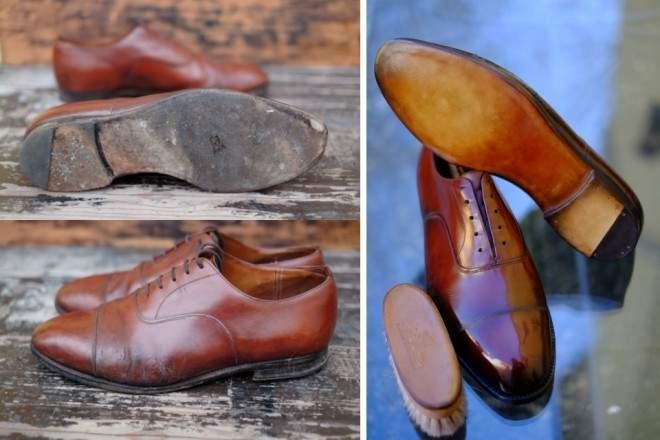 雨に濡れた革靴はどうやって手入れすればいい? 誰でも簡単にできる革靴のケア方法まとめ 2番目の画像