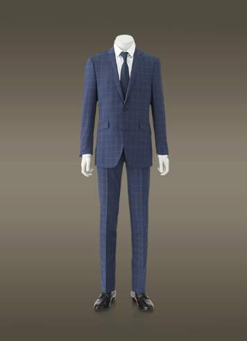 スーツスタイルも季節感を意識する。今季のトレンド「明るめのネイビースーツ」を提供するブランド3選 3番目の画像