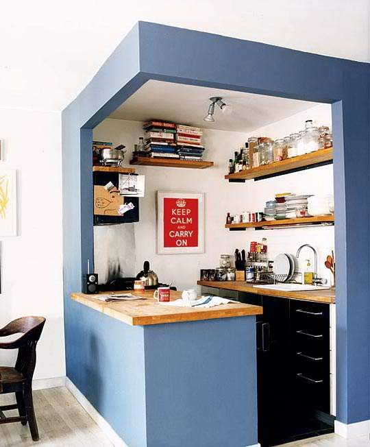 キッチンがお洒落だと、料理をもっと好きになる。スタイリッシュなキッチンインテリアの実例まとめ 3番目の画像