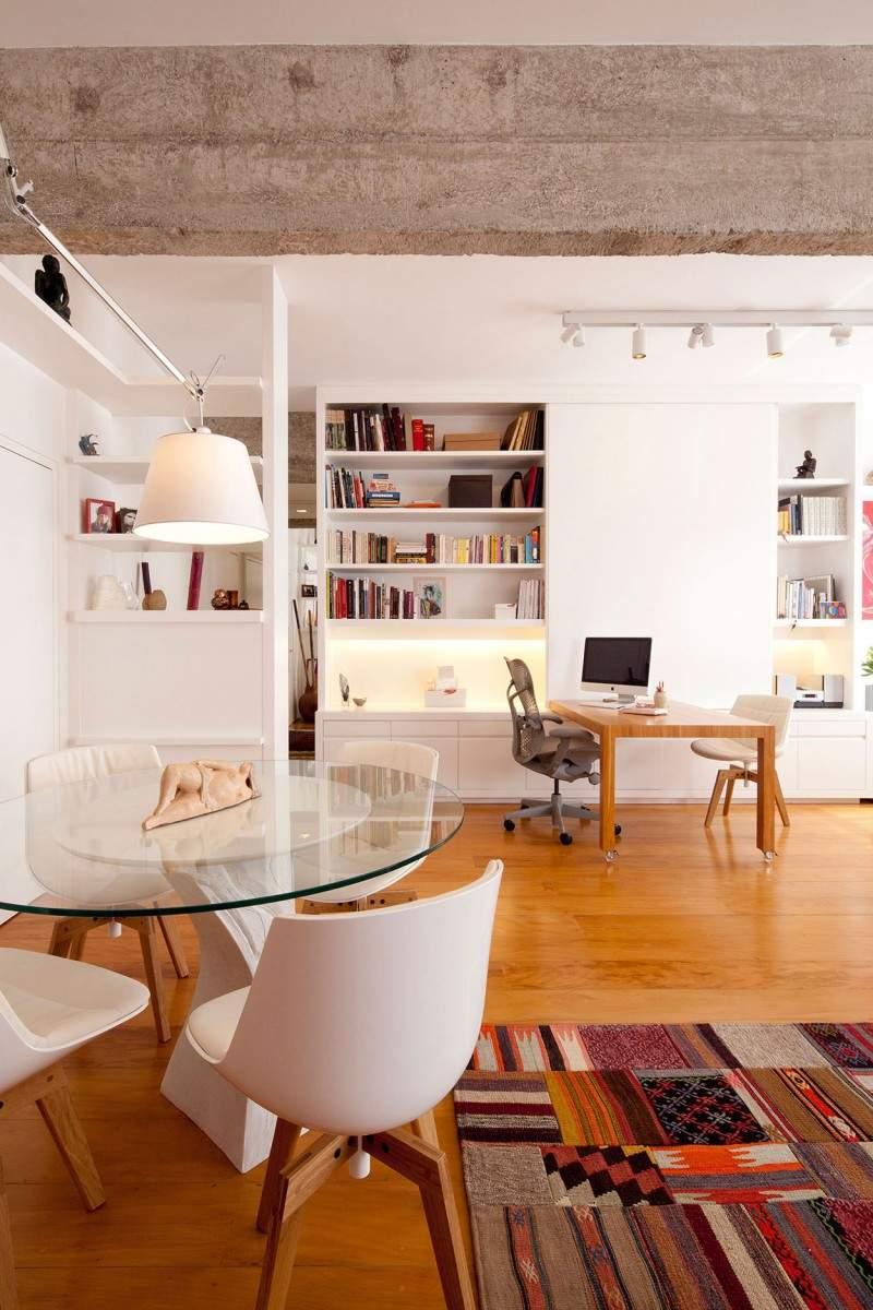 部屋を広く、柔らかに表現する円形の魅力。丸テーブルを用いた、実用的でお洒落なインテリア事例4選 3番目の画像