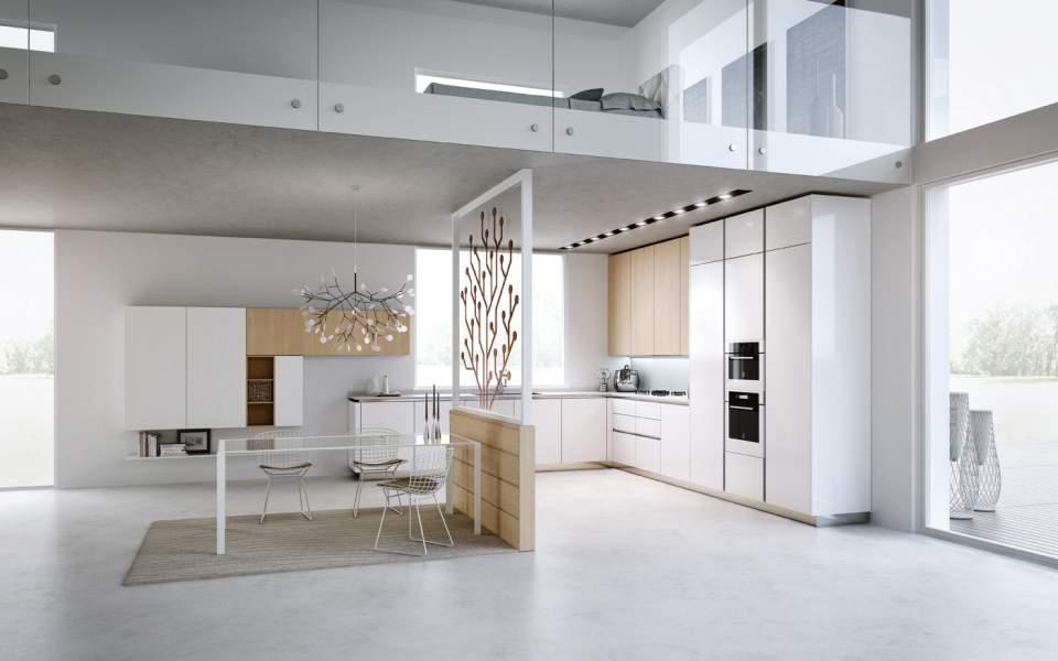窮屈さとは無縁の、快適な部屋作りを支える間仕切り。パーテーションを用いた空間活用実例3選 1番目の画像