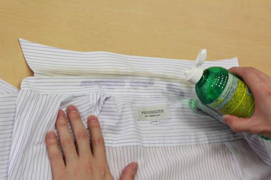 歯ブラシ1本用意すれば大丈夫。シャツの「黄ばみ」を手っ取り早く、自宅で落としてしまう方法 2番目の画像