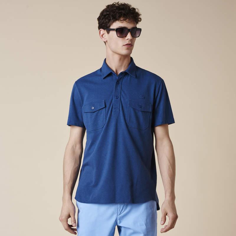 トレンドカラーと伝統あるデザインが融合。ラコステが提案する、今年のポロシャツスタイル 2番目の画像