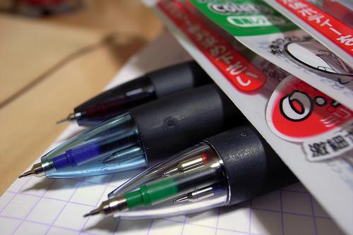 利用用途や気分に合わせてカスタマイズ。リフィルを入れ替えることができる多機能ボールペン3選 1番目の画像