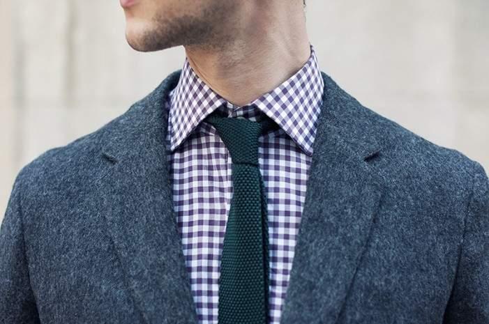 一歩差をつける遊びのテクニック。ジャケパンの決まり手はシャツとタイが織りなすVゾーンにある 4番目の画像