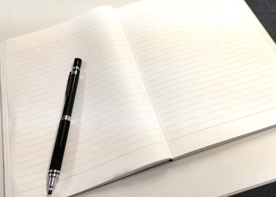 ジェントルマンのような高貴さ。どんなペンでも滑らかな書き心地が得られる「紳士なノート」 2番目の画像