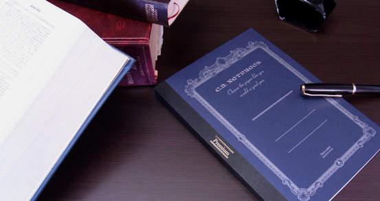 ジェントルマンのような高貴さ。どんなペンでも滑らかな書き心地が得られる「紳士なノート」 3番目の画像