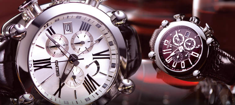 重厚なデザインで男際立つ。クロノグラフ腕時計なら「SEIKO(セイコー)」の一品 3番目の画像