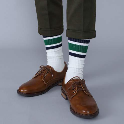 夏のスーツスタイルは足元おしゃれから。靴下屋「Tabio」が展開するおしゃれ靴下 5番目の画像