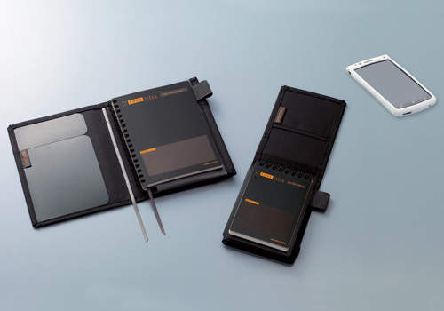 カバーを付けるだけで便利さが何倍増しにも。コクヨのカバーノート「SYSTEMIC」 1番目の画像