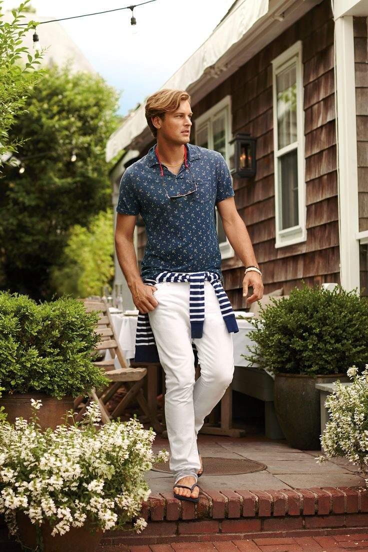頭を悩ませる、ポロシャツコーデ。夏の定番アイテム「ポロシャツ」のメンズ向けコーデまとめ 8番目の画像