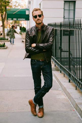 革靴×ジーンズで大人なカジュアルスタイル作り。男らしさを引き出すコーディネート術 2番目の画像