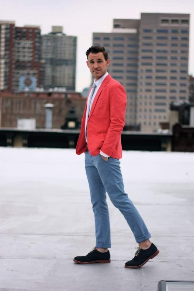 大人のジャケットスタイルは「ハズし」が肝心。ジャケットを制する者が、お洒落を制する。 3番目の画像
