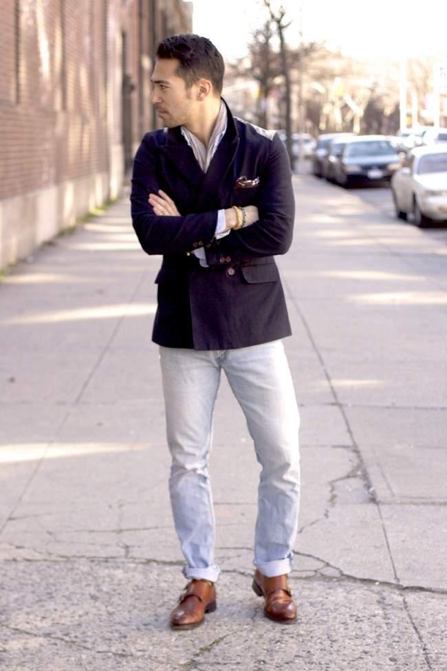 大人のジャケットスタイルは「ハズし」が肝心。ジャケットを制する者が、お洒落を制する。 5番目の画像