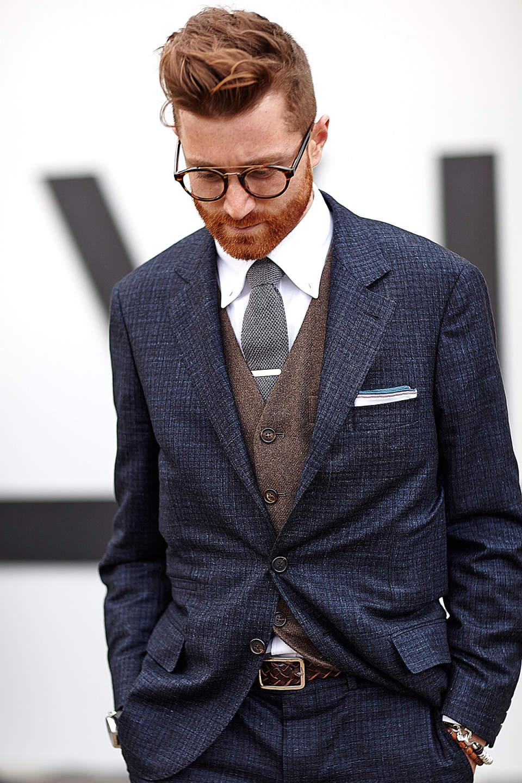 「スーツとベルト」は意外と見られてる? 真の洒落男はスーツとベルトの組み合わせから。 6番目の画像