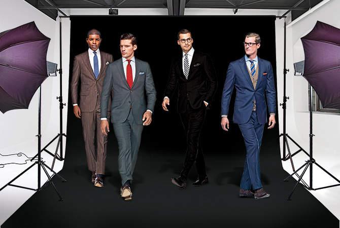 「スーツとシャツ」どうやって組み合わせてる? 再確認したいスーツコーディネートの基礎知識 1番目の画像