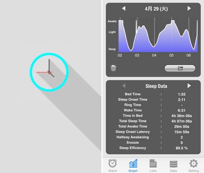 「寝坊しちゃった!」なんてことのない毎日を。目覚まし時計・アラームとして、おすすめ無料アプリ3選 4番目の画像