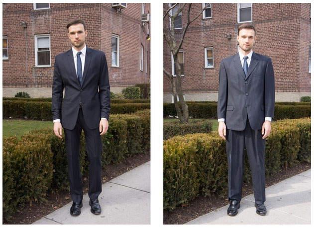 """2万円台のスーツが20万円のスーツを凌駕する。スーツの着こなしにおける""""フィット感""""の重要性 3番目の画像"""