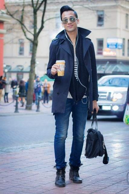 コーヒー片手に粋な佇まい。デートが待ち遠しくなる秋冬コート・ジャケット5選 6番目の画像