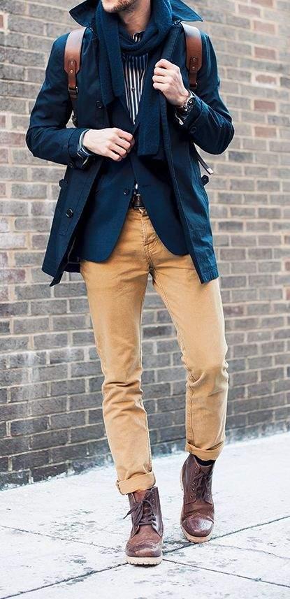 脱ブナン紺ジャケットしたい。無難すぎないおしゃれ紺ジャケット、教えます。 5番目の画像