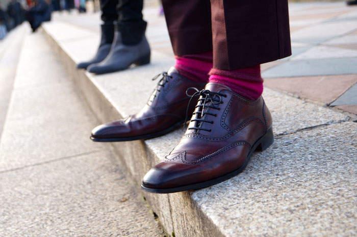 """靴下×パンツコーデには、ルールがあった? """"見せる""""靴下が、あなたのコーデをワンランクアップ! 1番目の画像"""