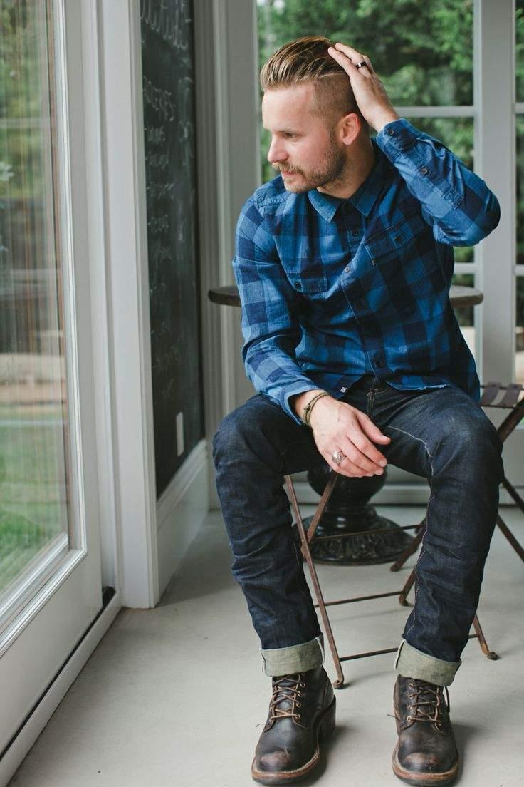 秋冬のデイリーコーデには鉄板のネルシャツを。おしゃれメンズが魅せるネルシャツの洒落た着こなし方 7番目の画像