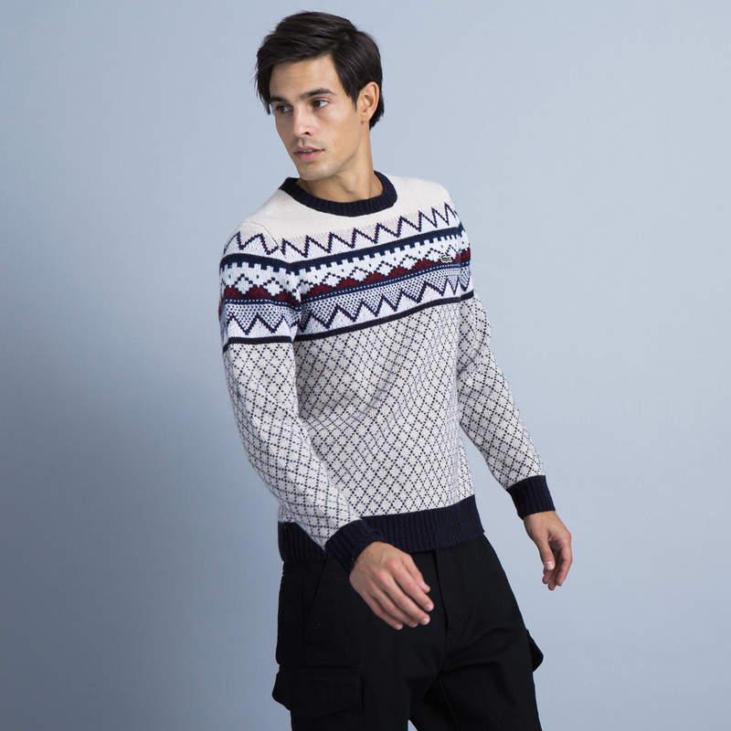 セーターはラコステでGETすべし。その理由はラコステの「定番」×「レトロ」なデザインにあり 4番目の画像